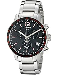 Tissot Mens T0954171105700 Analog Display Swiss Quartz Silver Watch