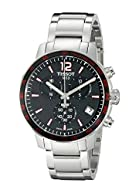 Tissot Men's T0954171105700 Analog Display Swiss Quartz Silver Watch