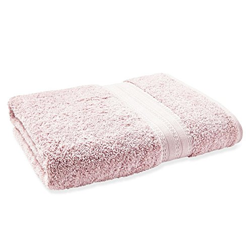 Bianca 100% Egyptian Cotton Guest Towel, Blush