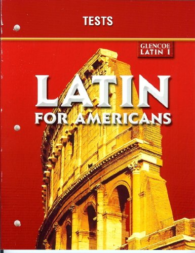 Latin for Americans Level 1: Tests