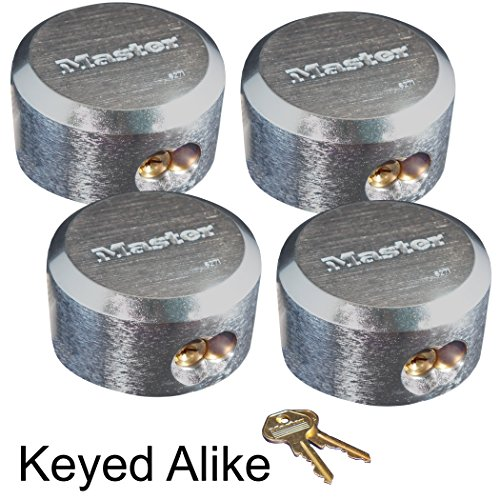 Master Lock Hidden Shackle Locks Keyed Alike 6271KA-4 (Aluminum Alloy Castings Properties Processes And Applications)
