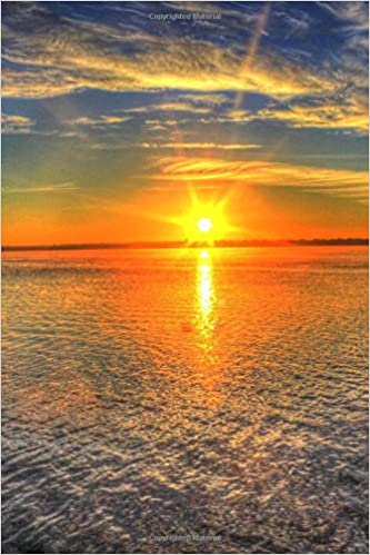 Good Morning Bright Sunrise On The Lake Journal 150 Page Lined Notebook Diary Creations Cs 9781544770307 Amazon Com Books