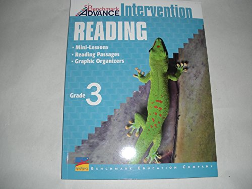 Benchmark Advance Intervention Reading - Mini-Lessons, Reading Passages, Graphic Organizers (Grade 3)