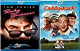 Caddyshack + Risky Business Blu Ray 80's Comedy Spoof Set double feature bundle