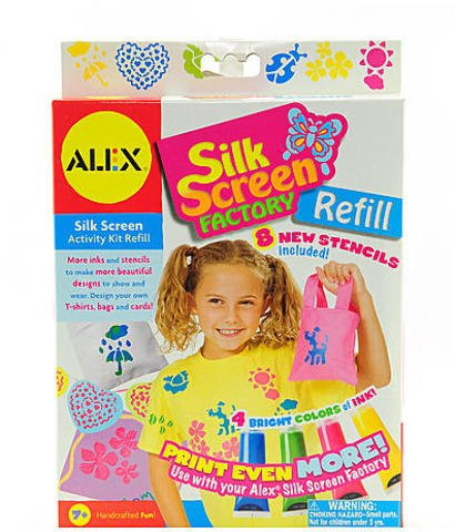 - Alex Toys Silkscreen Factory (Refill Kit) 1 pcs sku# 1830288MA