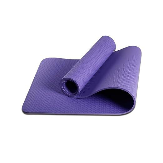 Alfombra De Yoga De Alta Densidad 8mm De Espesor Estera De ...