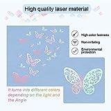 3D Butterfly Wall Decor Sticker Wall Decal Laser