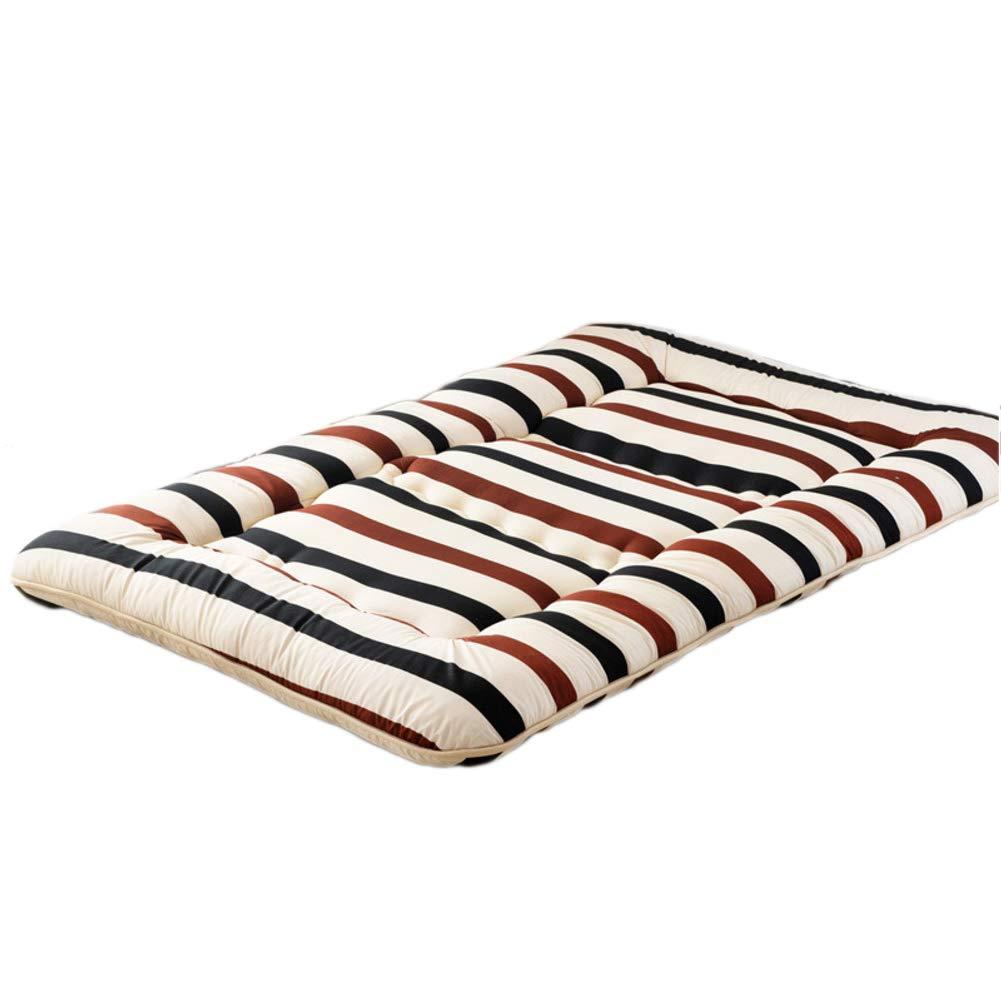 B 200x220cm H 10cm Bed mat bunkaussie Tatami Single Double Folding Ultra Thick Bedding Floor Four Seasons-Alibaba-D 120x200cm H 10cm