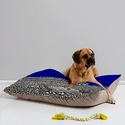 - Deny Designs Bird Ave Penn State University Navy Pet Bed, 40 by 30-Inch