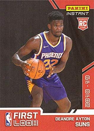 new product a4574 448b0 Amazon.com: 2018-19 Panini Instant Basketball #FI-1 Deandre ...
