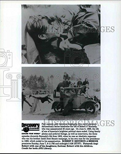 1998 Press Photo The Robert F. Kennedy: A Memoir is part historical biography