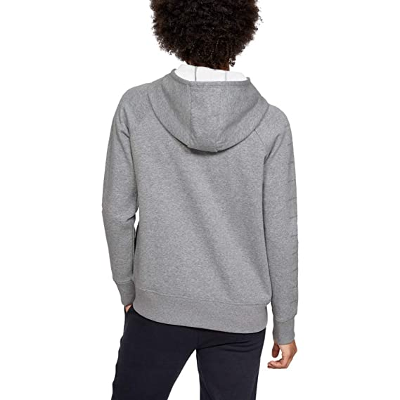 Under Armour Ottoman Graphic Sweatjacke Damen Hellgrau