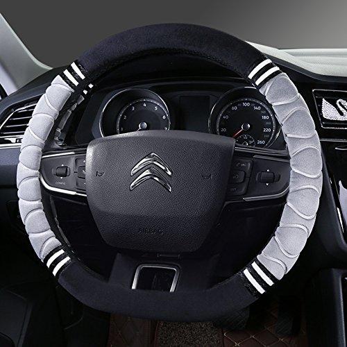 Felpa corto invierno tapacubos nuevo Citroen Elysee Sega-XR C3 C5 C2 C6 C4L Clásico,Modelo D Modelo [B] - Gris: Amazon.es: Coche y moto