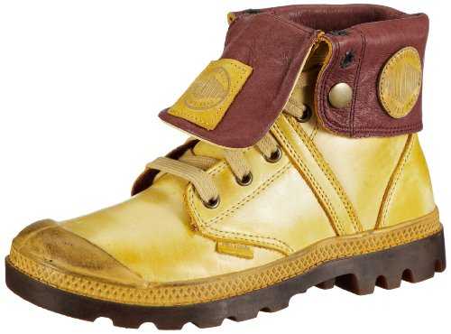 Palladium Pallabrouse Baggy L2 - Zapatillas altas, color: multicolor beige - Beige (Gold Apricot/Mid Gum)