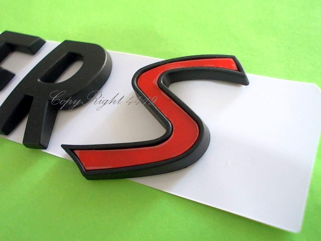 Mini Cooper S Nero Black Edition SD One JCW Clubman Stemma Badge Emblema Scritta Logo