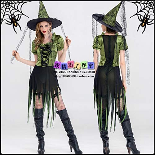 Disfraz de Halloween Disfraz de Halloween Demonio Disfraz de Bruja ...