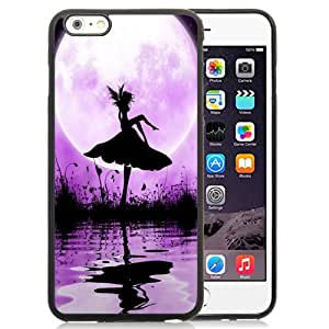 NEW DIY Unique Designed iPhone 6 Plus 5.5 Inch Generation Phone Case For Butterfly Girl At Night Phone Case Cover