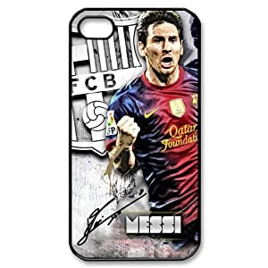 FC Barcelona Lionel Messi Sign iPhone 4 4S Perfect Color Match Cover Case for Fans