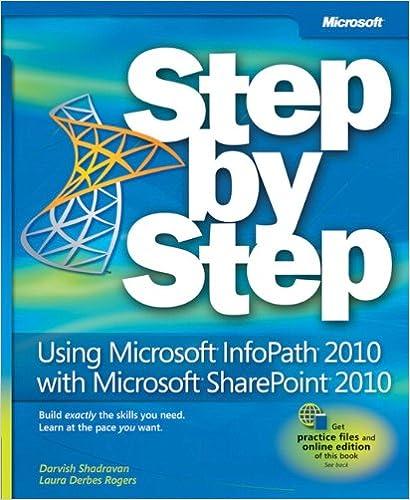 Como Descargar El Utorrent Using Microsoft Infopath 2010 With Microsoft Sharepoint 2010 Step By Step Gratis Epub
