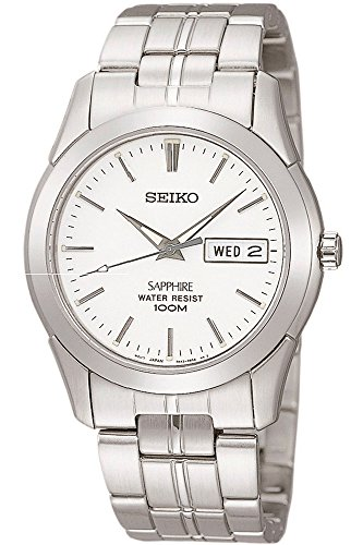 (Seiko Men Seiko Quartz 7N43 100M Analog SGG713 SGG713P1)
