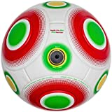 Bend-It Soccer Ball 5, Knuckle-It Pro White Official Match Ball