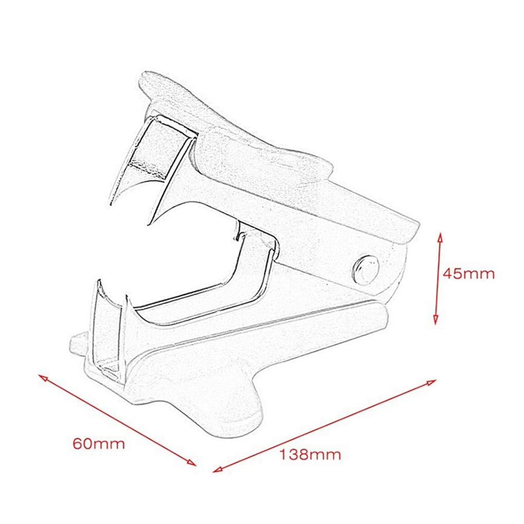 Staple Remover Nail Puller Binding Supplies for Various Types Stapler Nail Clip for Study Home Office