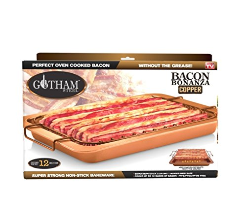 Bacon Bonanza by Gotham Steel Nonstick Oven Cooker As Seen On TV