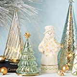 Lenox 887863 Wintery Woods Lit Mercury Glass Swirl