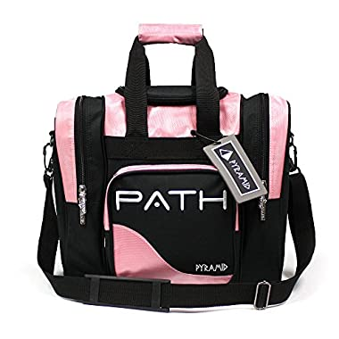 Pyramid Path Pro Deluxe Single Tote - Black/Pink (Blacklight Responsive)