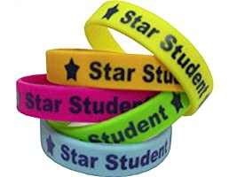 Teacher Created Resources Star Student Wristbands, Multi Color (6548)