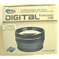 Digital Visions 2.0x 72mm Professional Telephoto Converter Lens