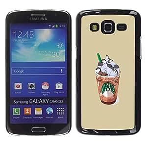 Dragon Case - FOR Samsung Galaxy Grand 2 - thinking of you - Caja protectora de pl??stico duro de la cubierta Dise?¡Ào Slim Fit