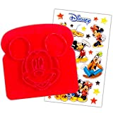 Mickey Mouse Clubhouse Disney Sandwich and Toast Stamp with Stickers (School Lunch Supplies) (Toast Stamp)