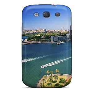 Excellent Galaxy S3 Case Tpu Cover Back Skin Protector Cool Scenery