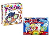 Pie Face Showdown Family Fun Game and Goliath Games Googly Eyes, Bundle