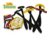 Little Treasures Moustaches Match Game is a Fast Past Fun Game, the Objective is See Your Match Hit the Stash of Cards