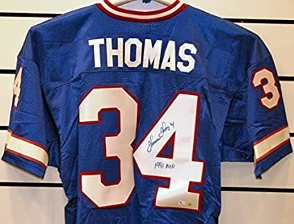 new products ba274 288ce Thurman Thomas Autographed Buffalo Bills Jersey. at Amazon's ...