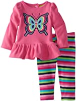 Watch Me Grow! by Sesame Street Baby-girls NB Butterfly Dress and Legging