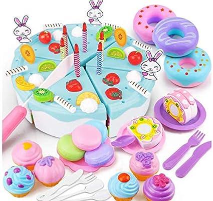 Duoduoyun Juego de imaginación Pastel de cumpleaños Corte ...
