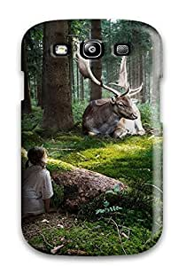 Hot Fairytale Forest First Grade Tpu Phone Case For Galaxy S3 Case Cover