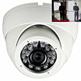 HD CVI 2.4MP 1080p 1/2.8 Sony CMOS 3.6mm 24LED 120ft Night View Dome Camera with Smart IR + Super DWDR + OSD Menu For Sale