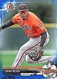 2017 Bowman Prospects Blue #BP137 Jomar Reyes Baltimore Orioles Baseball Card