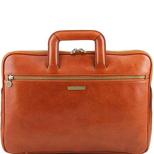 Portafolio Piel en Leather Tuscany Miel Marrón Caserta qwAEWF