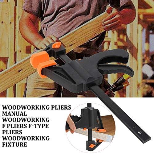 木工クランプ手動木工FクランプFタイプクランプ木工フィクスチャー木工6インチ-30インチ-オレンジ-8インチ