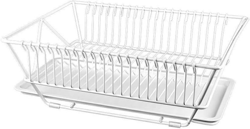 棚, ストレージラック食器洗い機シンクドレインラックシンクドレインバスケット304ステンレス鋼キッチンシンクバスケットリークプールラック、黒と白(色:黒)、色:黒 (Color : White)