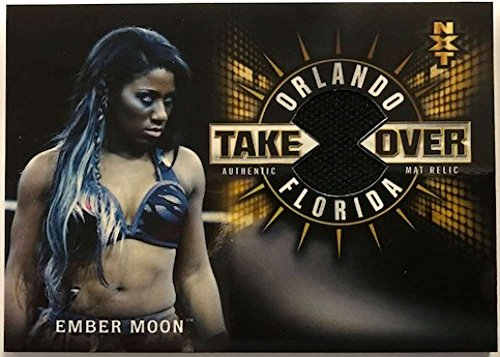 2018 Topps Road to WrestleMania NXT TakeOver Orlando Mat Relics #MR-EM Ember Moon NM-MT MEM /199 from Road to WrestleMania