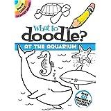 Dover Books DOV-47819-X What to Doodle at The Aquarium Mini Book