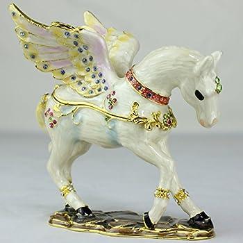 Amazon.com: EchoMerx Pegasus Trinket Box Winged Horse