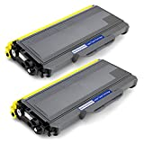 Office World Compatible Toner Cartridge Replacement for Brother TN360 TN-360 TN330 (Black, 2-Packs),Compatible with Brother HL-2170W HL-2140 MFC-7840W MFC-7340 MFC-7440N DCP-7040 DCP-7030