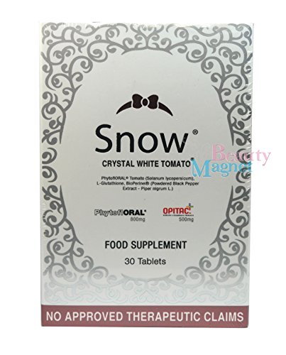 Snow Crystal White Tomato Whitening 30 Tablets by Snow Caps